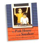 cover image of The Pink House at the Seashore by Deborah Blumenthal